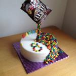 M&M taart