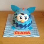 Furby Boom taart