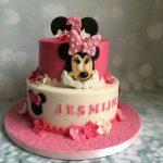 Romantische Minnie taart
