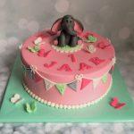 Lief olifantje taart