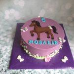 Paarse paarden taart