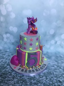 Neon Pony taart