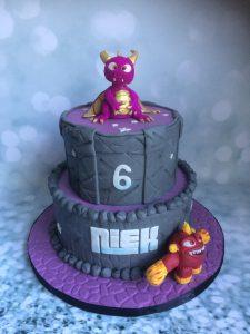 Skylander taart