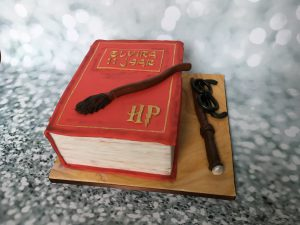Harry Potter boek taart