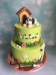 Lieve hondje taart
